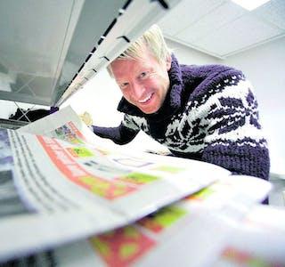 Mattias Mellquist er redaktør og daglig leder i Vestby Avis.