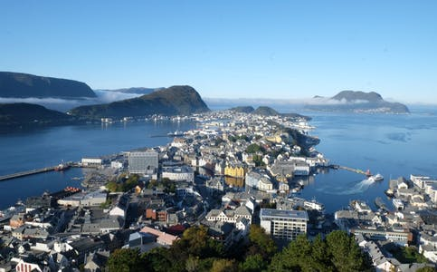 Ålesund by utsikt 6