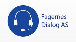 Fagernes Dialog logo