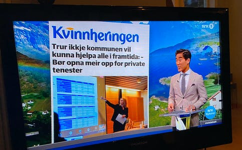Prosjektet «Den store folkevandringa» har fått stor merksemd, mellom anna i Debatten på NRK1.