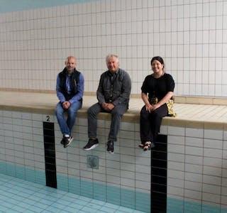 Enge skule har lett tilgang på basseng, noko som kan vere grunnen til at mange av 10-åringane kan symje, skriv Grannar. Foto: Grethe Hopland Ravn, Grannar